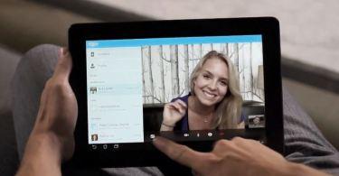 Skype Android Tablets Screenshot Header
