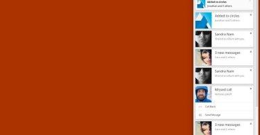 Chrome Benchachrichtigungscenter 2013 Screenshot