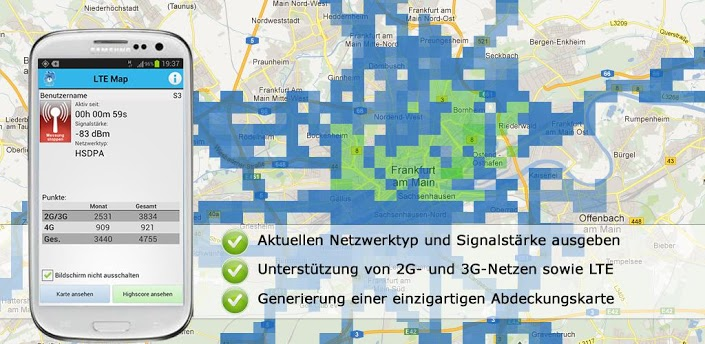 LTE Map
