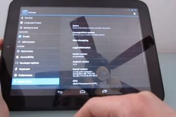 android 4.2.2 touchpad