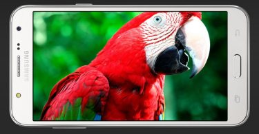 Samsung Galaxy J5 cropped