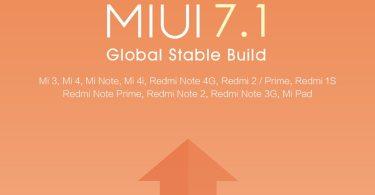 MIUI 7.1 Rollout