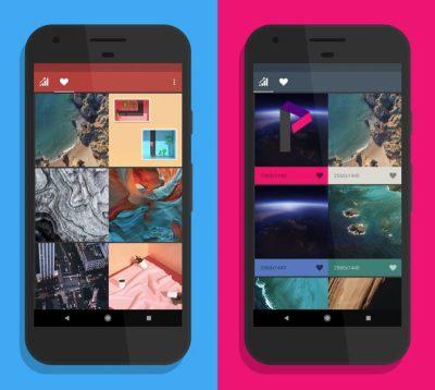 Android P Wallpapers: App stellt Wallpaper aus Android-Versionen bereit
