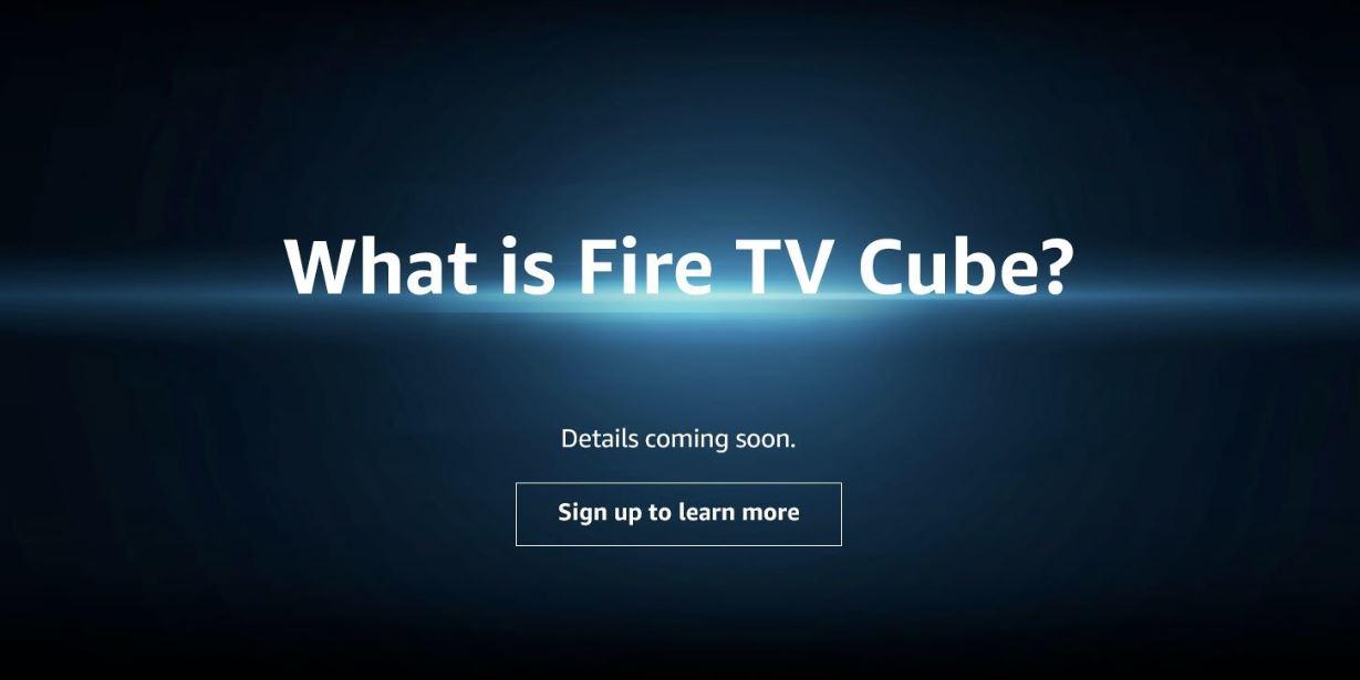 Amazon Fire TV Cube mit integriertem Echo scheint unterwegs