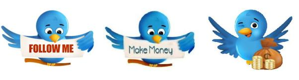 Make money with twitter!