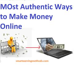 authentic ways to make money