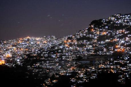 Aizawl city, capital of Mizoram