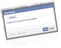 Now you can Pay Facebook To send Private Messages to anyone you like!