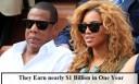 Celebrities Who Earn nearly $1 Billion in One Year