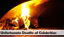 Top 10 Unfortunate Deaths of Celebrities in 2013