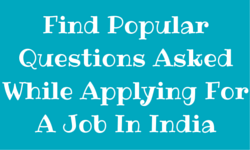 Find-Popular-Questions-Asked-While-Applying-For-A-Job-In-India