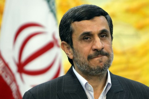 Iranian President Mahmoud Ahmadinejad gestures prior to a meeting at his office in Tehran on December 18, 2011. AFP PHOTO/Atta KENARE (Photo credit should read ATTA KENARE/AFP/Getty Images)