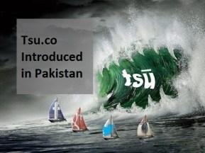 Tsu.co Introduced in Pakistan