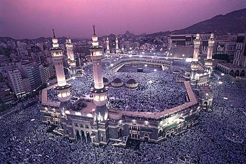 3. mecca saudi arabia