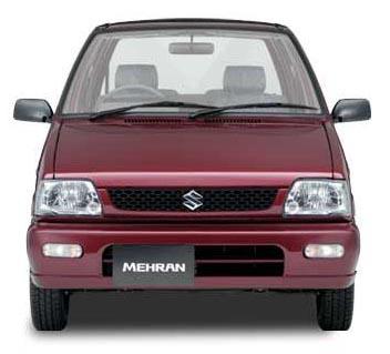 Mehran fuel consumtption cars