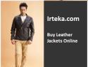 Irteka: Buy Leather Jackets Online