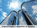 America's Largest Private Companies 2016