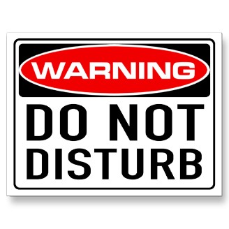 Do Not Disturb (The Tenants)