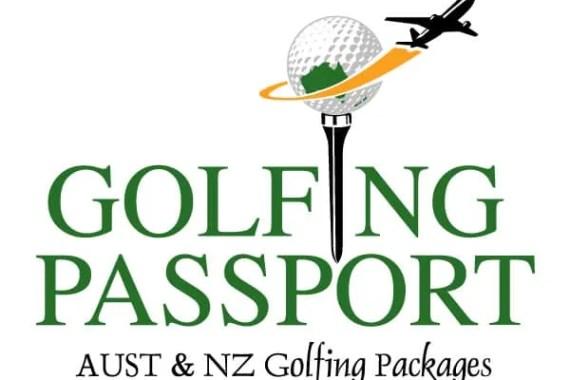 Golfing Passport Logo Design