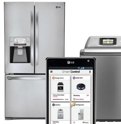 Electrodomesticos inteligentes LG - m