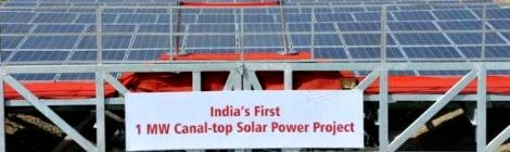 India construirá mayor planta flotante de energía solar