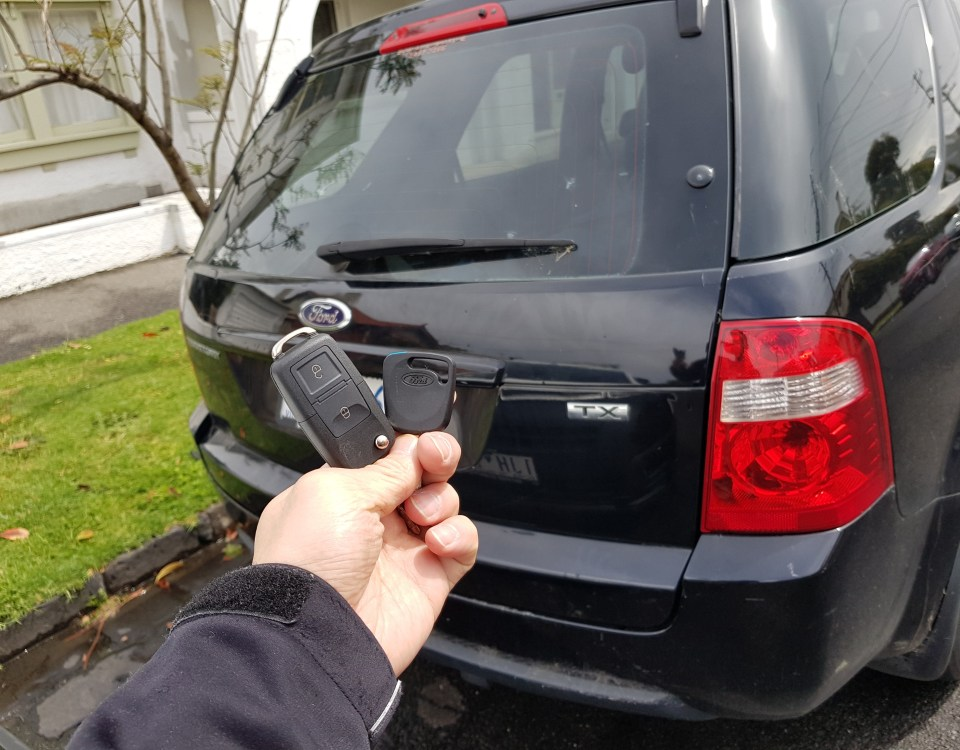 Ford Territory 2004 Remote Key