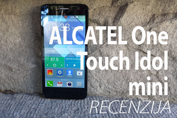 Recenzija: Alcatel One Touch Idol mini (Video)