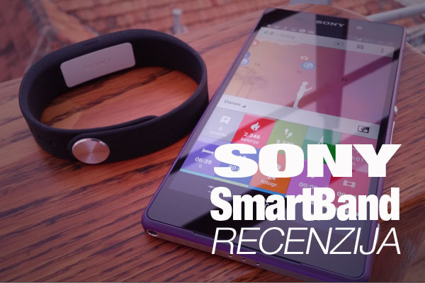 Recenzija: Sony SmartBand