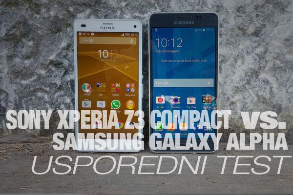 Sony Xperia Z3 Compact vs. Samsung Galaxy Alpha