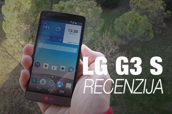 Recenzija: LG G3 S