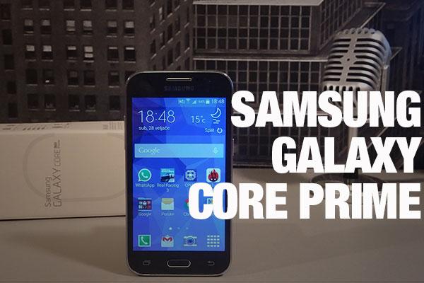 Recenzija: Samsung Galaxy Core Prime
