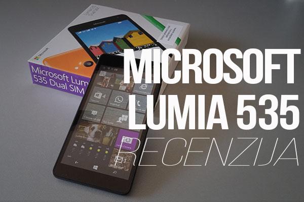 Recenzija: Microsoft Lumia 535