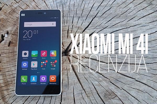 Recenzija: Xiaomi Mi 4i