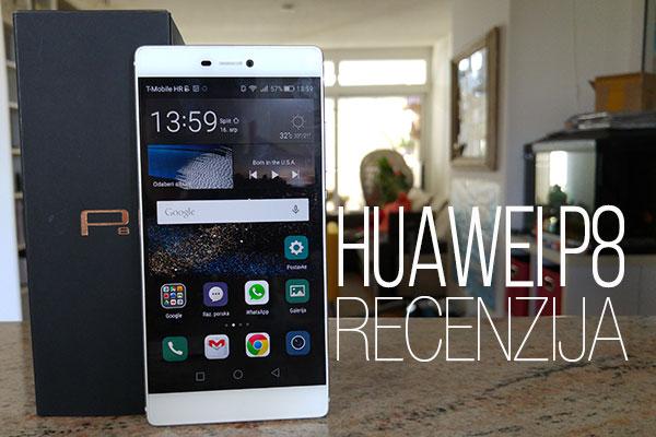 Recenzija: Huawei P8