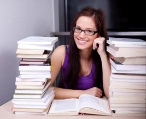 female student publishing