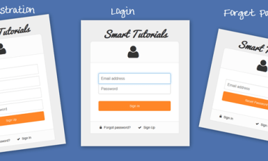 User registration, Login and forget password Using PHP5, MySqli, jQuery and Bootstrap