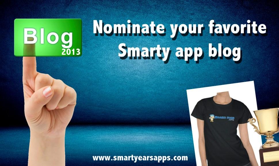 Nominate your favorite Smarty app blog