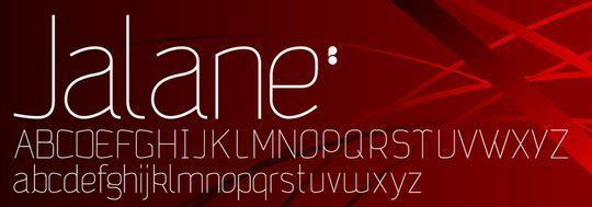minimalisticfonts15 15 Free Minimalistic Designs Fonts