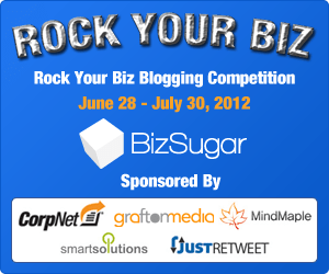 BizSugar Rock Your Biz contest