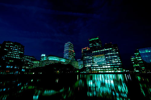 Docklands London UK