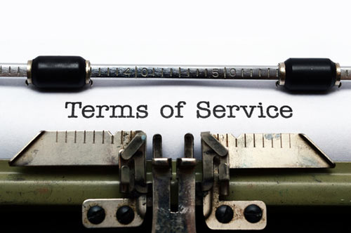 creating terms of service