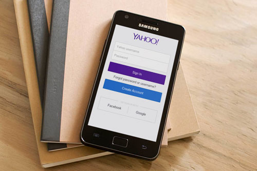 Yahoo! mail mobile