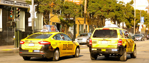 Taxicab in San Francisco