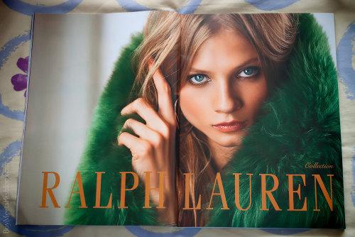 Ralph Lauren print ad