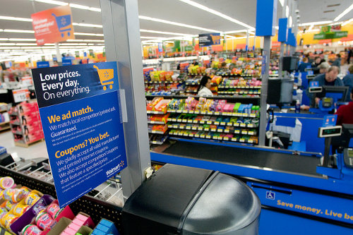 Walmart Ad Match and Coupons at Checkout