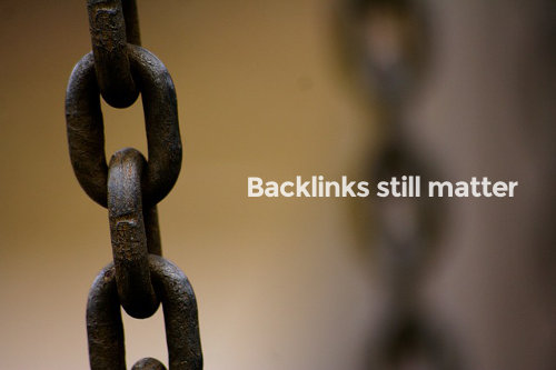 Backlinks still matter