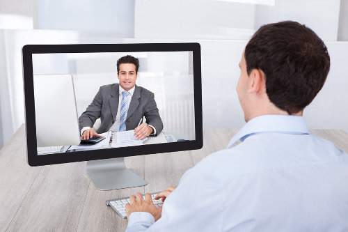 Online conferencing for IT tech support
