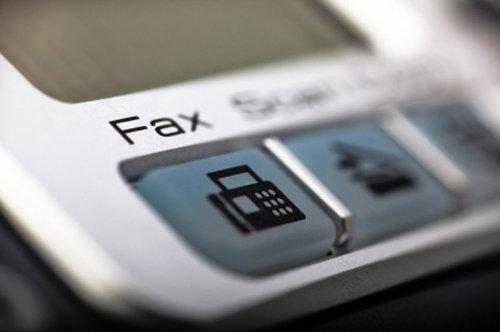 Online fax using FoIP technology