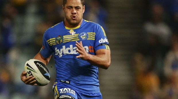 Heading to the Gold Coast: Former Parramatta star Jarryd Hayne.