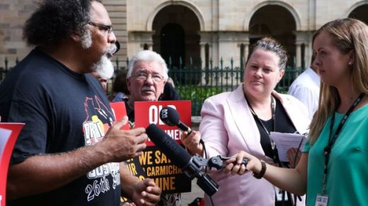 The Wangan and Jagalingou campaign launch in March.